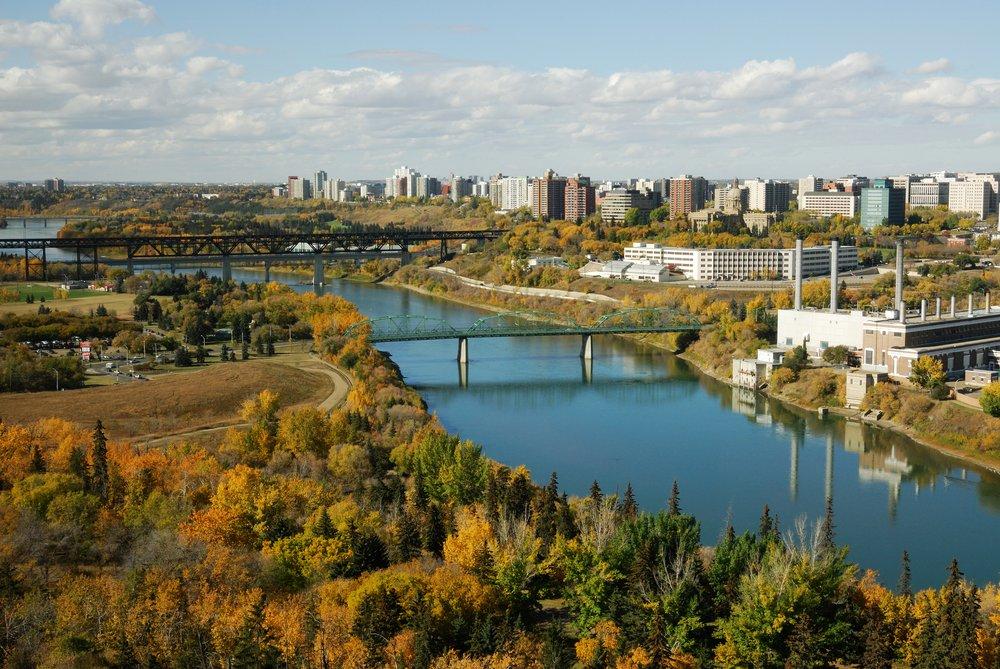 PCRM Edmonton Office Skyline