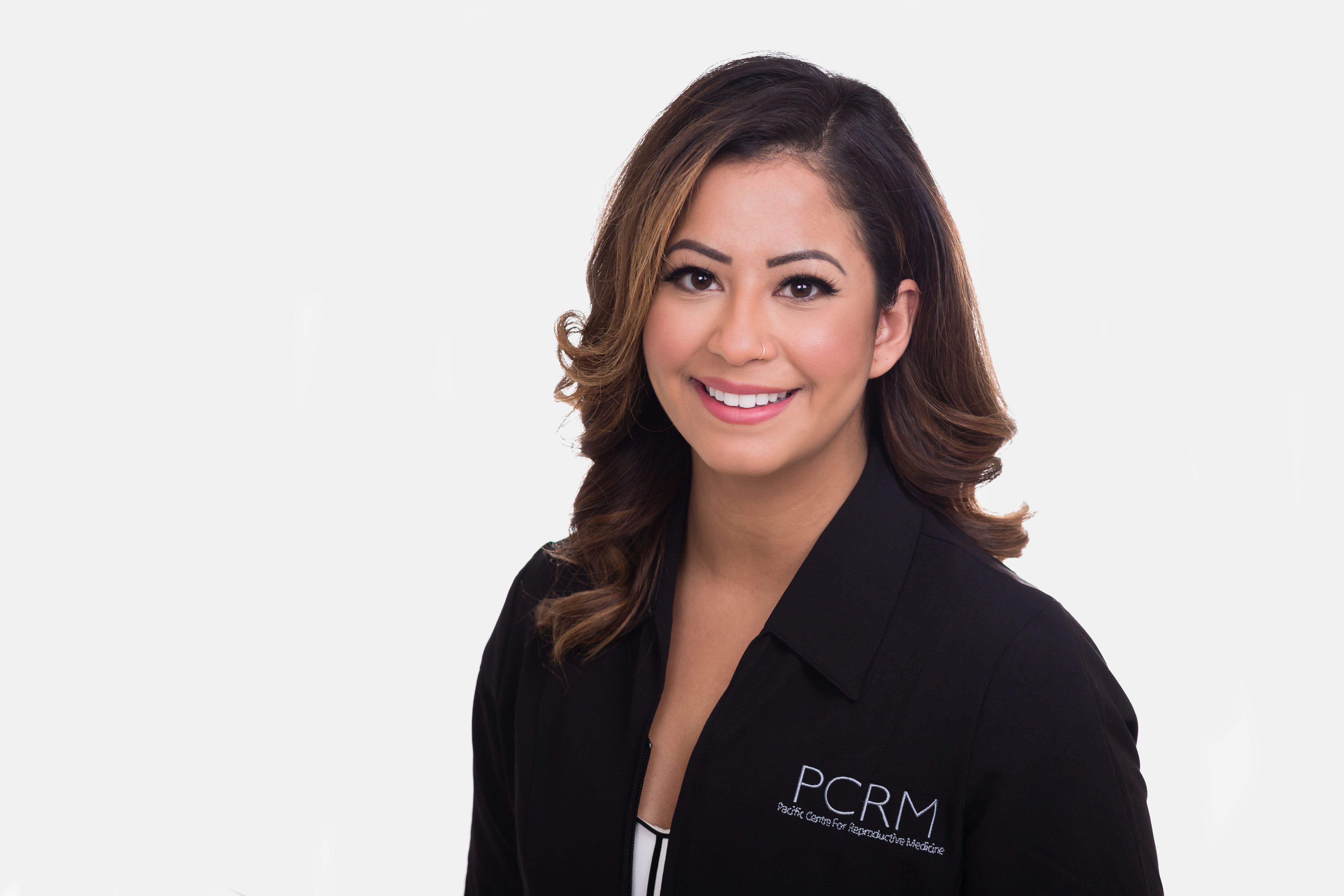 PCRM's fertility nurse, Marta