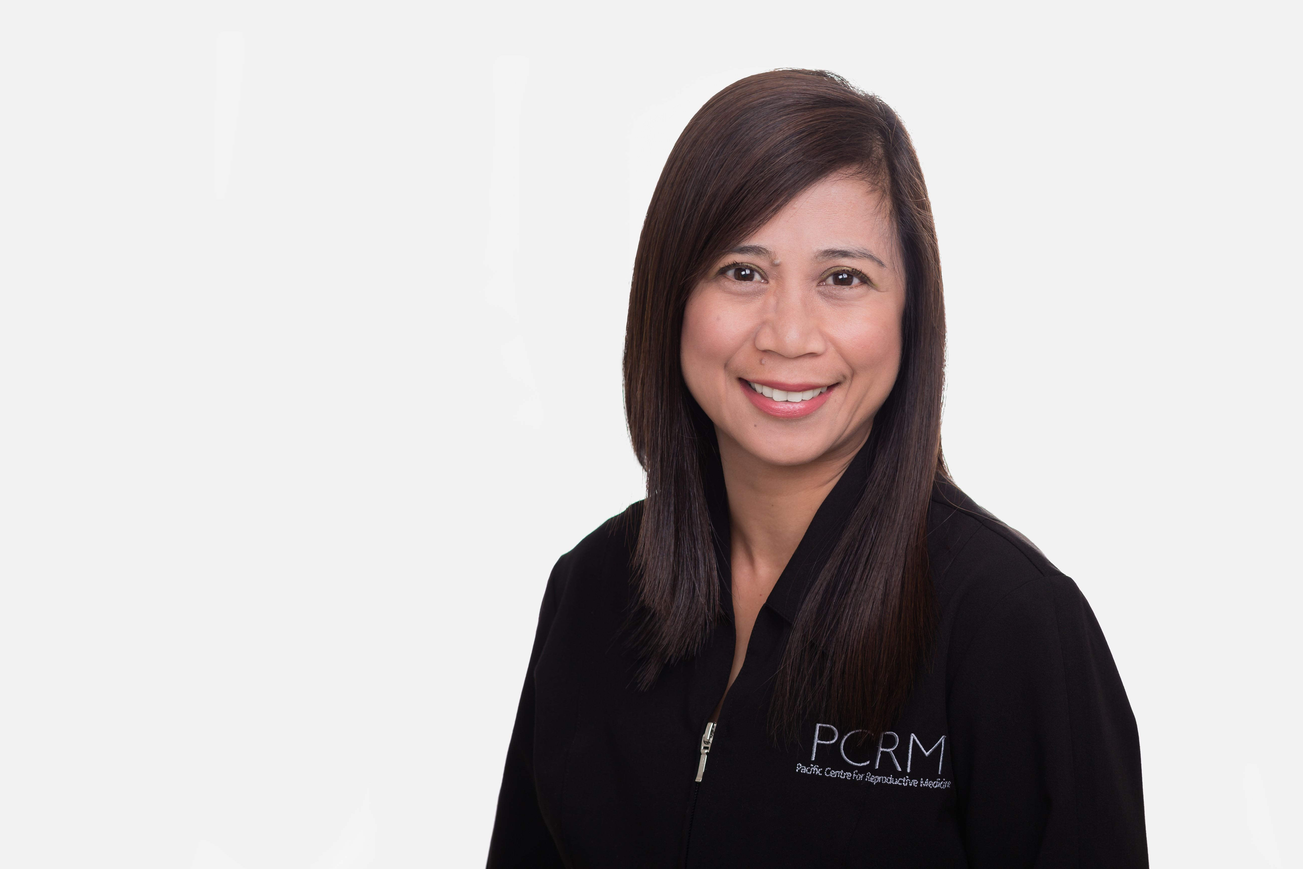PCRM's fertility nurse, Melissa