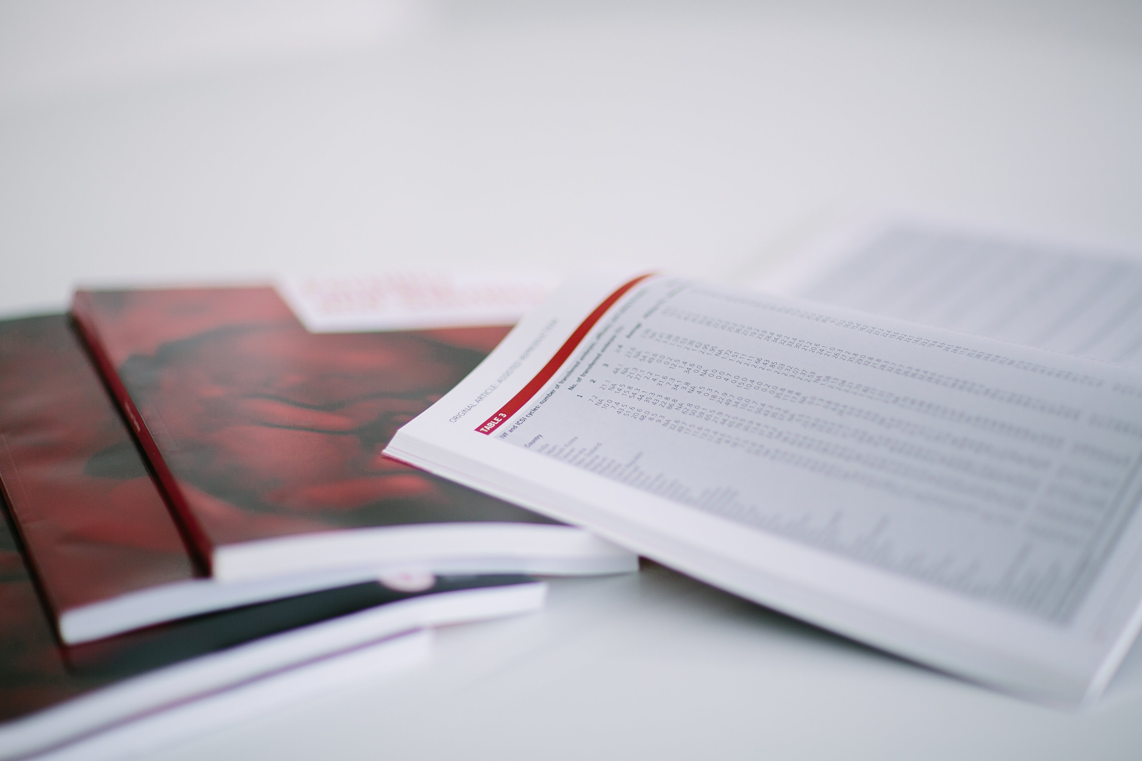 Books on IVF procedures and ICSI treatments